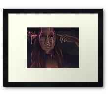 What are you drawing Ryan 186 Framed Print