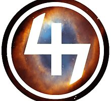 47 (4th and 7th Chakra) Helix Nebula by Telic