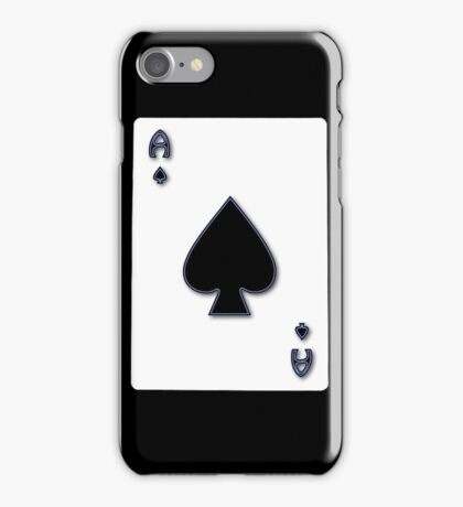 Ace of Spades iPhone / Samsung Galaxy Case iPhone Case/Skin