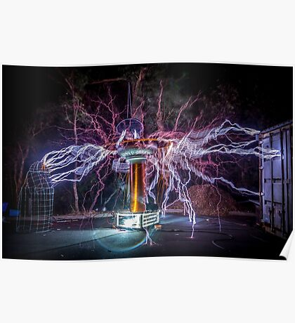 Electric Spider Poster