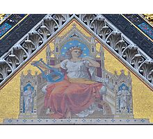 Literary Muse on the Prince Albert Memorial Photographic Print