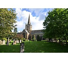 Stratford on Avon--Holy Trinity Church Photographic Print