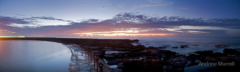 Newcastle sunrise by Andrew Murrell