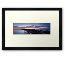 Newcastle sunrise Framed Print