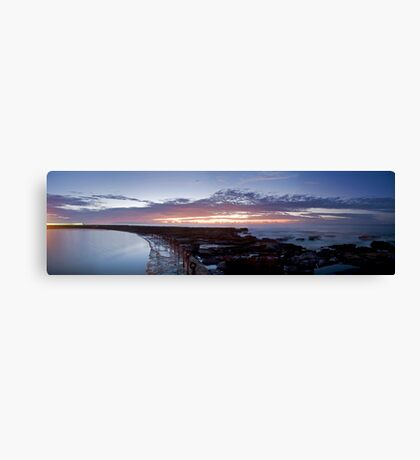 Newcastle sunrise Canvas Print