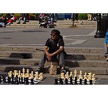 Chess, Anyone? Photographic Print