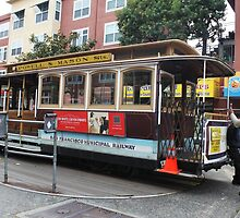 San Francisco historic man turned cable car lines... by DonnaMoore