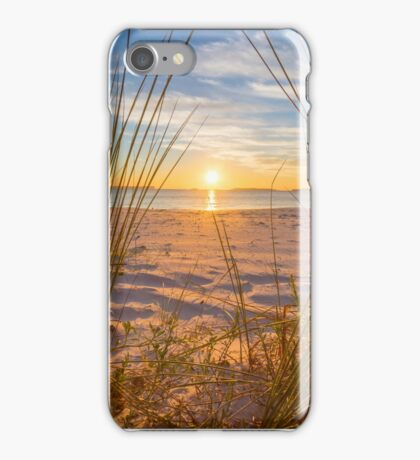 Throw Those Curtains Wide iPhone Case/Skin