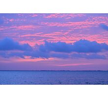 Cotton Candy Sunrise Photographic Print