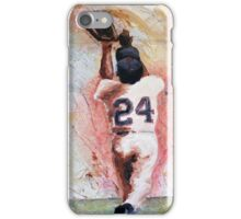 Willie Mays iPhone Case/Skin