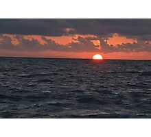 Sunset Captiva #2 Photographic Print
