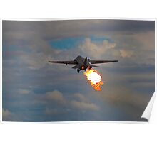 Departing in style! Poster