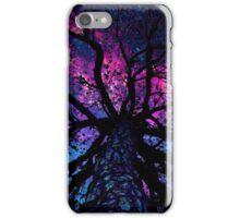 Universe nebulae tree iPhone Case/Skin