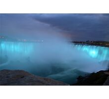 Blue Niagara Photographic Print