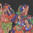 Fiesta! Dance Like You Mean It! by redqueenself