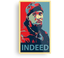 Omar The Wire Indeed Metal Print