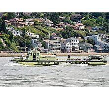 Fireboat Defiance Photographic Print