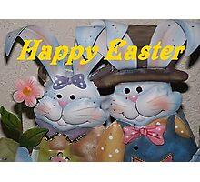 Happy Easter Photographic Print