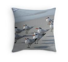 The Flock Throw Pillow