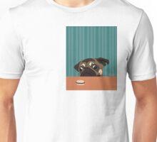 Le pug et le macaron Unisex T-Shirt