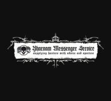 Bloodborne - Yharnam Messenger Service - White by garudoh