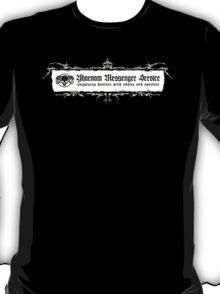 Bloodborne - Yharnam Messenger Service - White T-Shirt