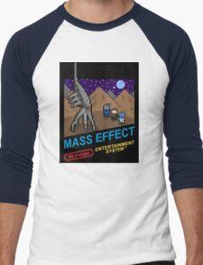 NEStalgia: Mass Effect Men's Baseball ¾ T-Shirt