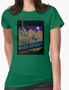 NEStalgia: Mass Effect Womens Fitted T-Shirt