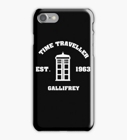 Doctor Who Time Traveller Gallifrey iPhone Case/Skin
