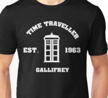 Doctor Who Time Traveller Gallifrey Unisex T-Shirt
