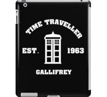 Doctor Who Time Traveller Gallifrey iPad Case/Skin