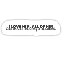 All of Him - Rumbelle Sticker