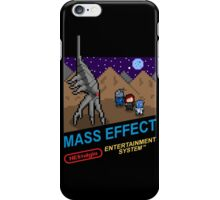 NEStalgia: Mass Effect - FemShep Version iPhone Case/Skin