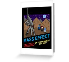 NEStalgia: Mass Effect - FemShep Version Greeting Card