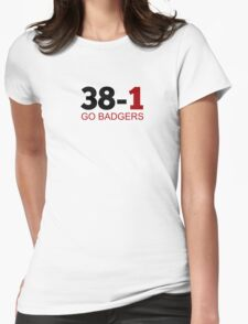 38-1! Womens Fitted T-Shirt
