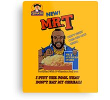 Mr. T Cereal  Metal Print