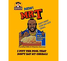 Mr. T Cereal  Photographic Print