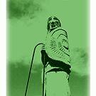 Uliad, early Portaferry man, wanderer or warrior by ragman