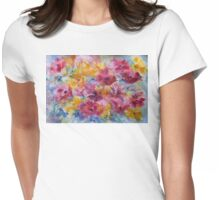 Meet Me in the Garden Womens Fitted T-Shirt