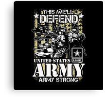 UNITED STATES ARMY Canvas Print