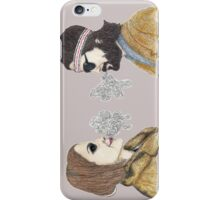 Margot and Richie Tenenbaum iPhone Case/Skin