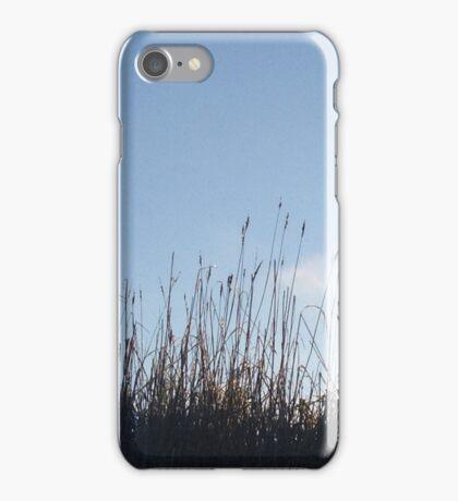 Waving Grass, Blue Skies iPhone Case/Skin