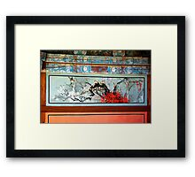 Contemplative Birds Framed Print