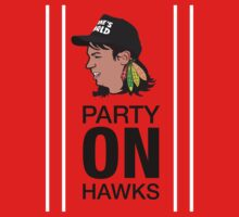 Party On Hawks! by dialon25