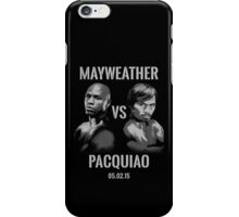 Mayweather VS Pacquiao 2015 iPhone Case/Skin