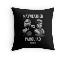 Mayweather VS Pacquiao 2015 Throw Pillow