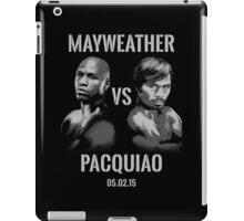 Mayweather VS Pacquiao 2015 iPad Case/Skin