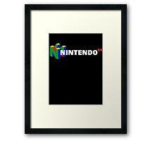 Nintendo 64 Framed Print