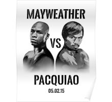 Mayweather VS Pacquiao 2015 Poster