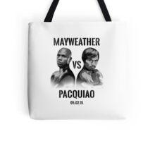 Mayweather VS Pacquiao 2015 Tote Bag